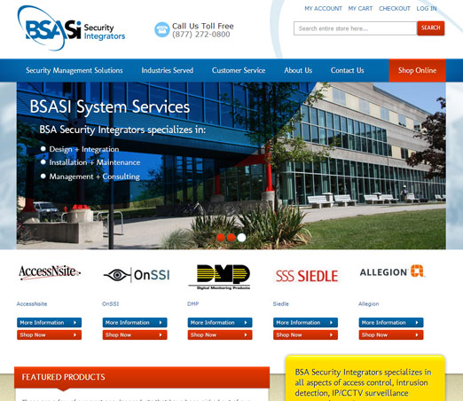BSA Security Integrators screen shot