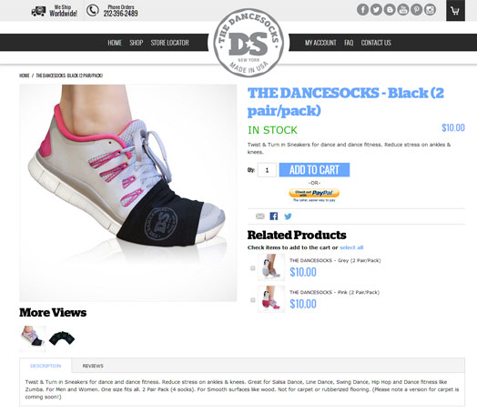 The Dance Socks screen shot