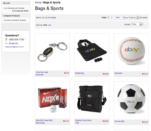 Ebay Inc. screen shot