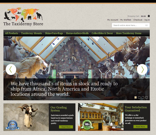 The Taxidermy Store screen shot