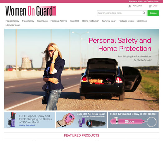 Women On Guard screen shot